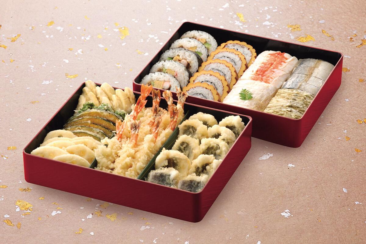 寿司盛り/天ぷら盛り
