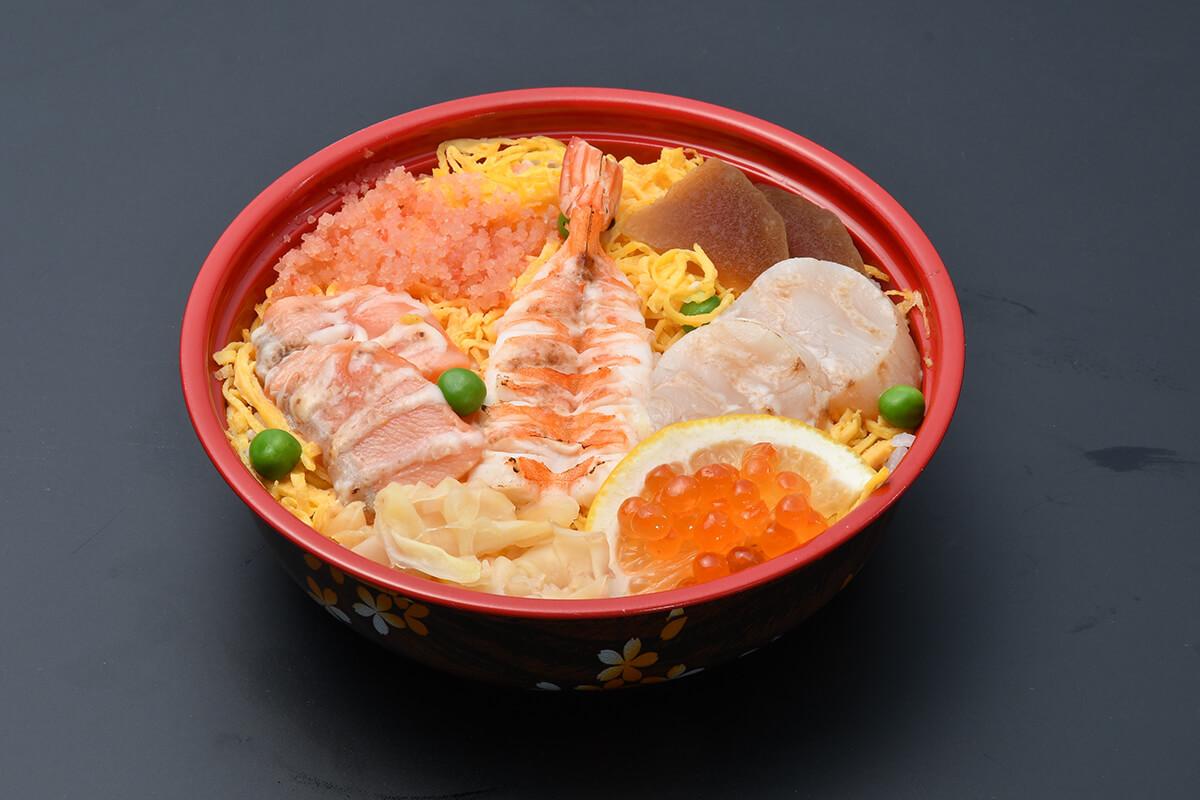 炙り海鮮丼